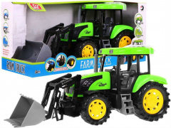 Blue Tractor Sounds Lights Green