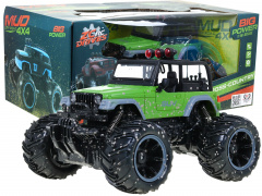 Toy car Jeep Off-road R/C 2.4 G 1:16 Green