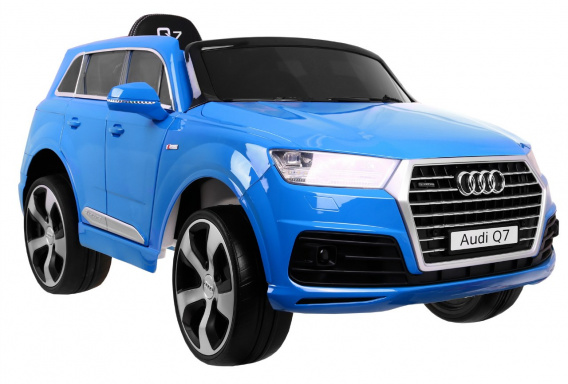 New Audi Q7 2.4G LIFT Painting Blue