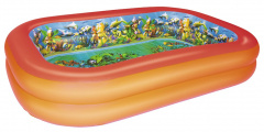 POOL 3D underwater adventure 262/175/51 cm BESTWAY