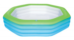 Swimming pool octagon 251/251/51 cm BESTWAY