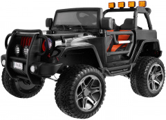 The Monster Jeep 4 x 4 Black