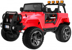 The Monster Jeep 4 x 4 Red