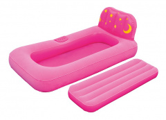 Mattress to sleep with projector BESTWAY Pink