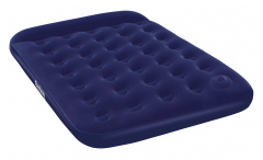 Velour mattress with pump 191/137/28 cm BESTWAY