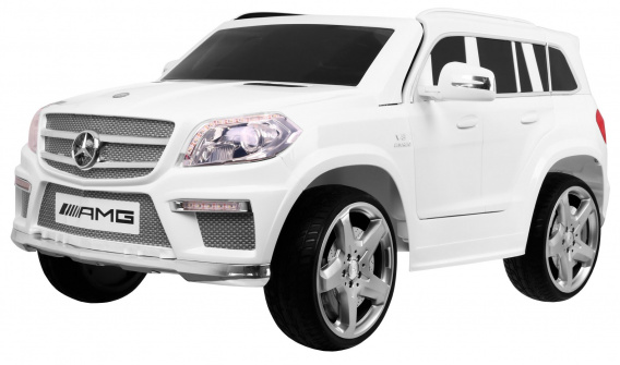 Mercedes Benz GL63 AMG Painting White