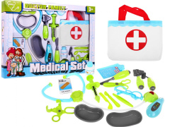 Medical Kit Bag Of Young Doctor
