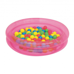 Pool With Balls BESTWAY Pink