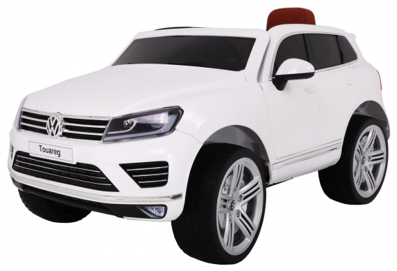 Vehicle Volkswagen Touareg White