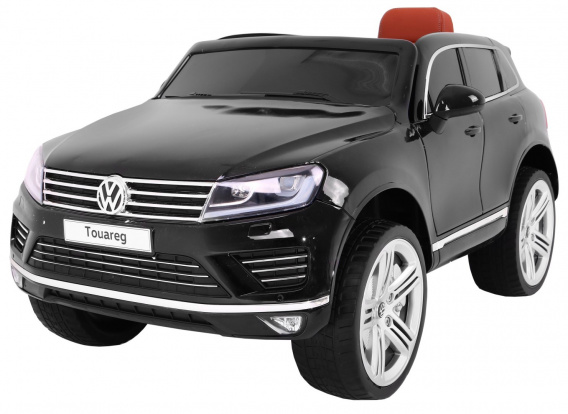 Vehicle Volkswagen Touareg Black