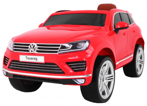 Vehicle Volkswagen Touareg Red