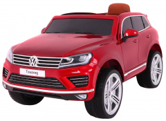Vehicle Volkswagen Touareg Painting Red