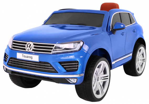 Vehicle Volkswagen Touareg Painting Blue