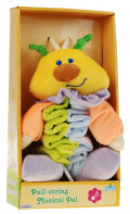 Pet Spring Plush Worm