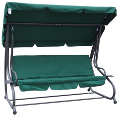 Garden swing Adjustable Seat Textylina 2 x 1 Green