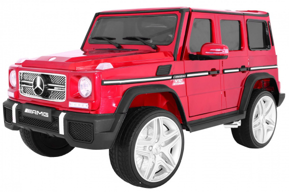 Mercedes G65 2.4G Painting Red