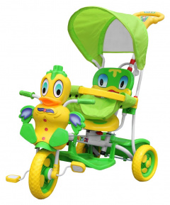 Tricycle Duck green