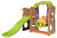 Swing slide 3 in 1 Basketball Teddy bear