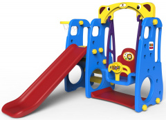 Slide Swing Basketball 3 in 1 Blue