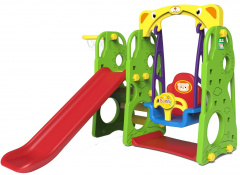 Slide Swing Basketball 3in1 Green