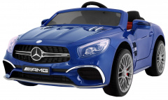 Mercedes AMG SL65 Painting Blue