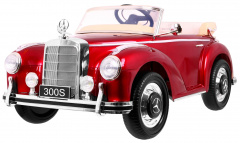 Vehicle Mercedes Benz 300S RETRO Red Lacquer