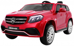 Mercedes Benz GLS 63 AMG 4WD Painting Red