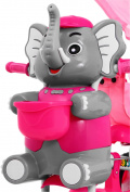 3-wheeled bike Happy Elephant Pink