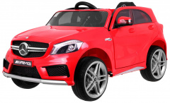 Vehicle Mercedes A45 AMG Red