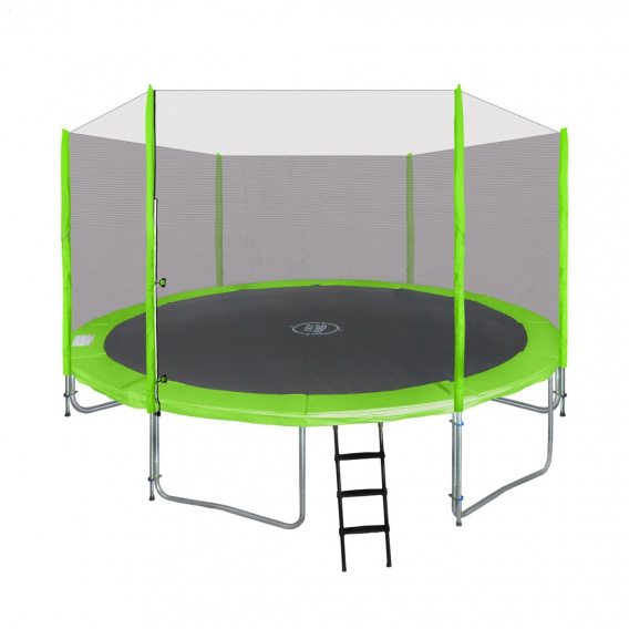 Trampoline 14 FT 427cm Green