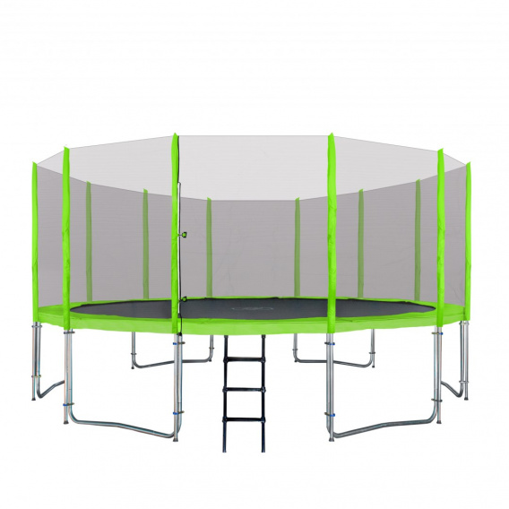 Trampoline 16FT 487cm green