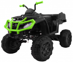 All-terrain Quad 4 x 4 black and green