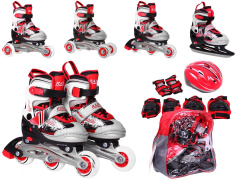 Rollerskate set 4in1 27-30 Red
