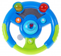 Set Of Keys Remote Control Steering Wheel Blue