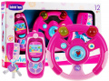 Set of keys Pilot Steering wheel Pink