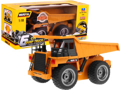 Toy car R/C 2.4 G Metal dump truck Cab 1:18