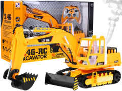 R/C excavator with smoke 2, 4 g