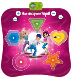 Dance mat Twister Move and Groove