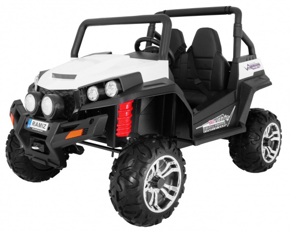 Ride on car Grand Buggy 4 x 4 White