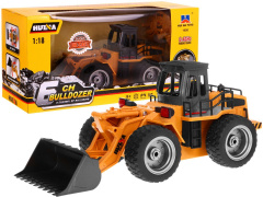 Bulldozer R/C 2.4 G Metal Spoon 1:18