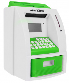 ATM Cash Machine Green PL