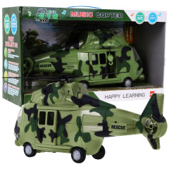 Military helicopter with sounds Beige