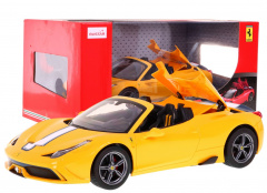 R/C toy car Ferrari 458 Speciale and Yellow 1:14 RASTAR