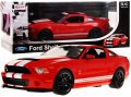 R/C toy car Ford Shelby Mustang GT500 Red 1:14 RASTAR
