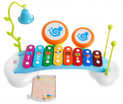 Glockenspiel with percussion for children