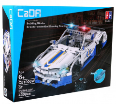 The pads R/C toy car Police 430 el. EE