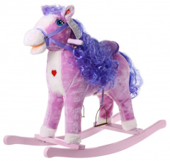 Pony Rocking Horse Purple