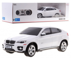 R/C toy car BMW X 6 White 1:24 RASTAR