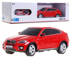 R/C toy car BMW X 6 Red 1:24 RASTAR