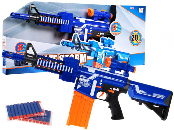 Blaze Storm Rifle Blue